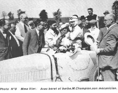 Dieppe_1933 avec son mécanicien