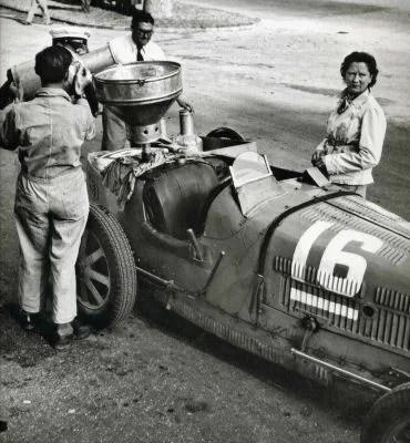 1936 12ème Grand Prix de Picardie # 16, le 21 juin 1936 numéro 16 Châssis 51142