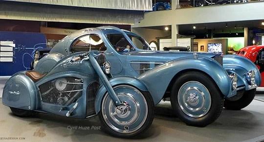 Atlantico Harley Davidson esprit bugatti