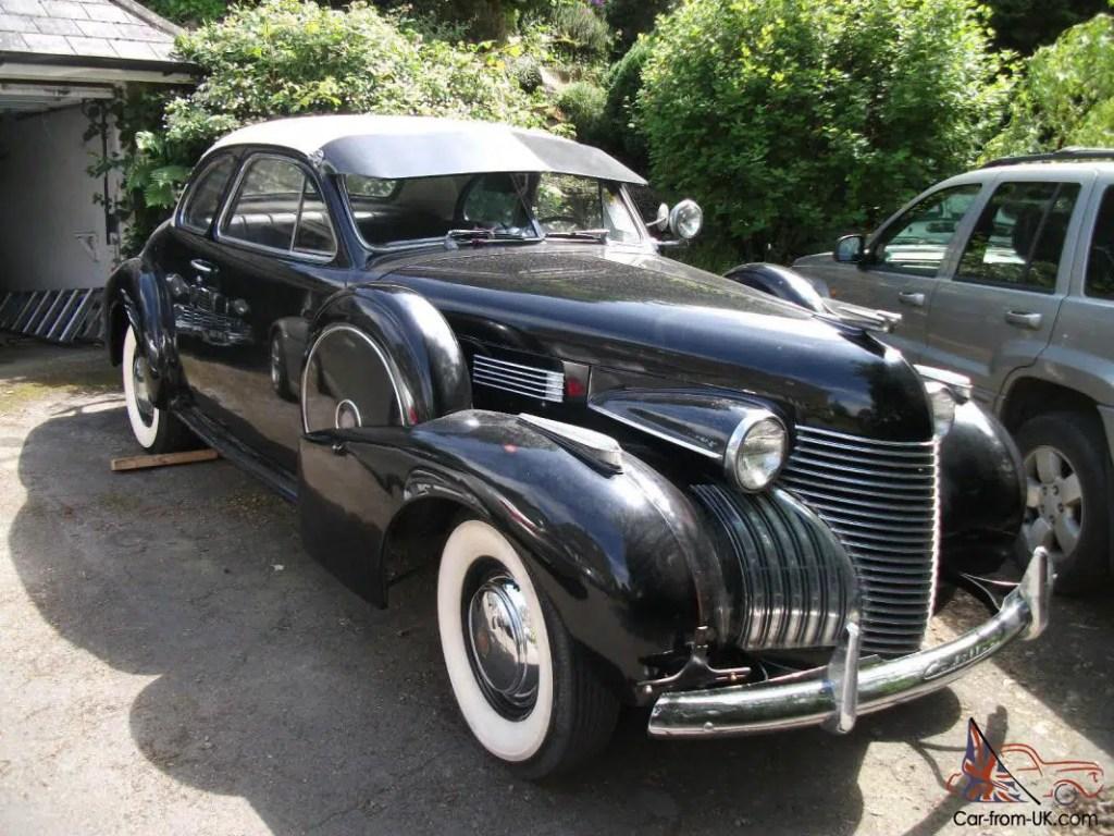 1940 Cadillac DeVille coupé