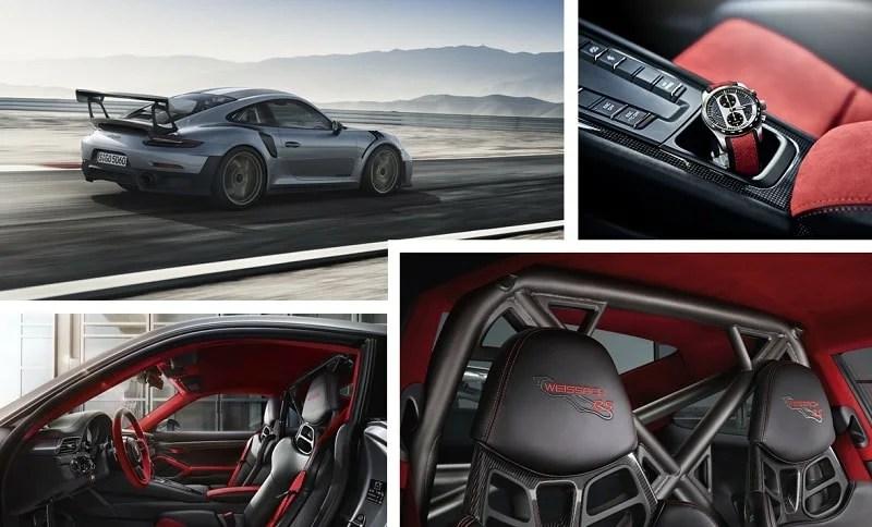 Porsche 911 GT2 RS habitacle