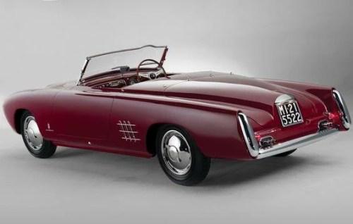 Lancia Aurelia PF-200 Convertible 1952 RALLYE RÉTRO SOLOGNOT - MILLANCAY 41 le 3e dimanche de septembre. Agenda de l'Atelier du Loft retrouvez les événements auto moto pour vos weekends