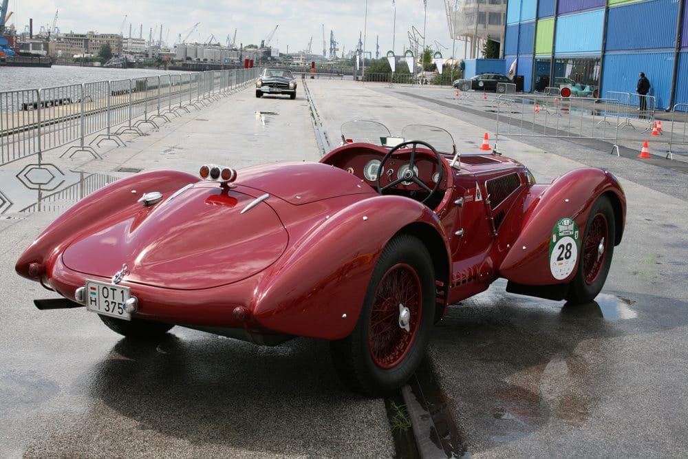alfa roméo 1942 6C 2500 SS Corsa Mensuel auto collection TOUQUET 3e dimanche (sauf janvier, février, mars et décembre) |Agenda événements autos motos de Daniela DAUDE artiste ART automobil
