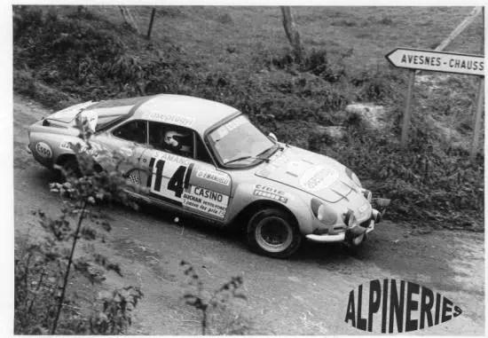 1976 Christine Dacremont - Emanuelli Rallye de Saint Amand les Eaux