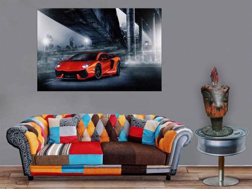 Fan de Ferrari Luminaire Trépan acier, brise roche dure