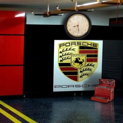 Horloge garage Vedette deco theme voiture