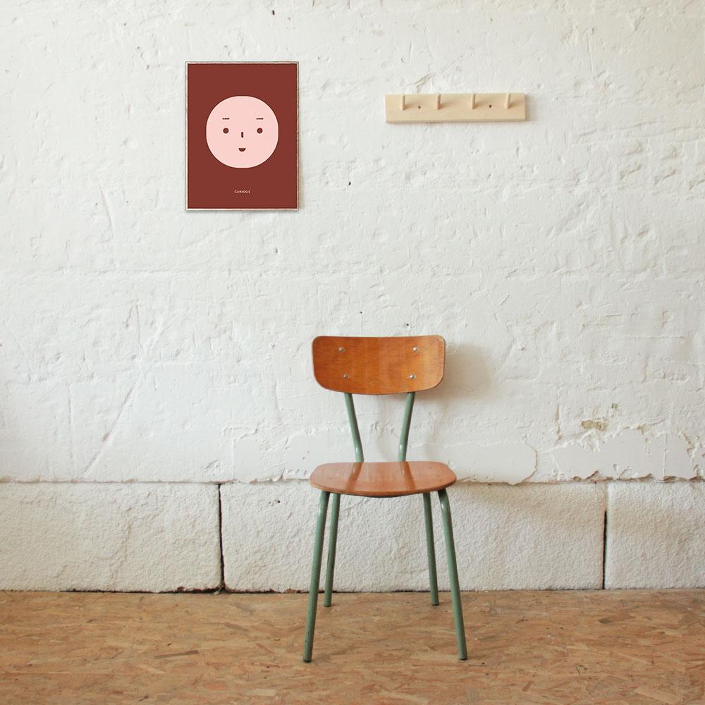 chaise d ecole vintage belge atelier