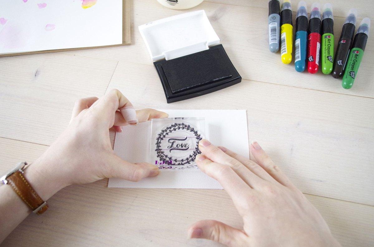 DIY mes cartes d'aquarelle (1)