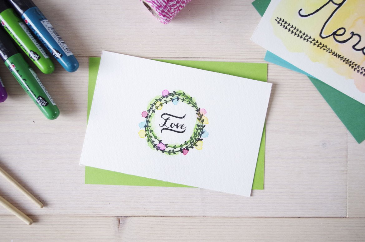 DIY mes cartes d'aquarelle (4)