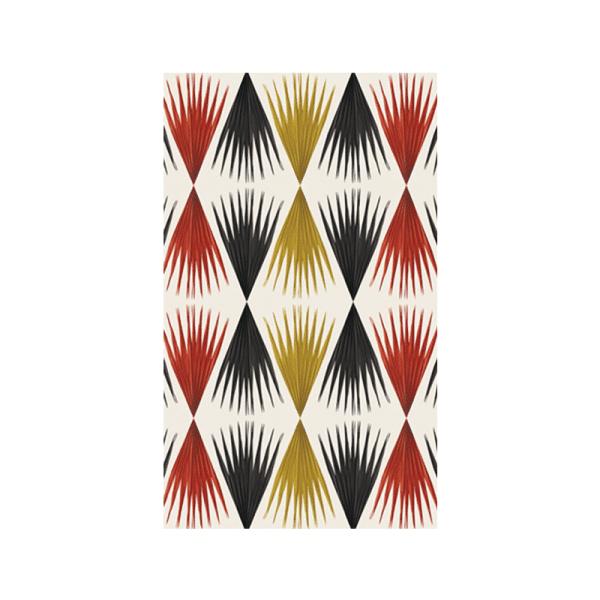 rideau bamako camaieu rouge
