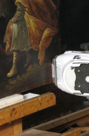 xrf element analyse pigment schilderij painting