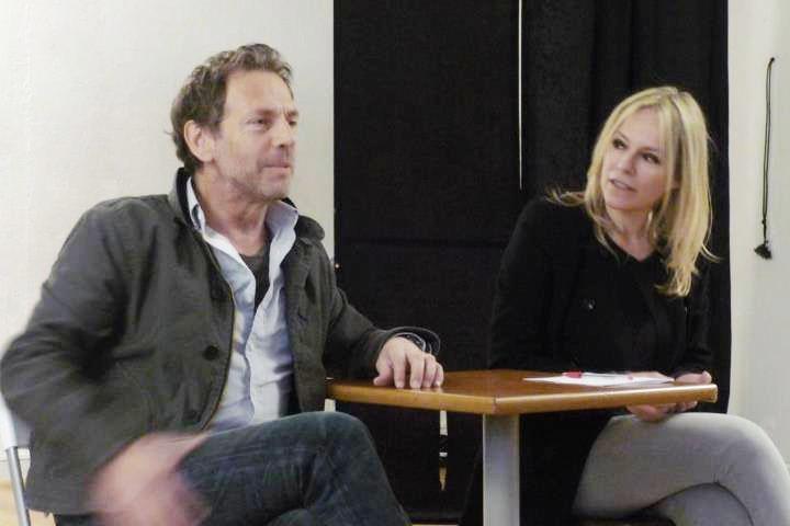 Stéphane Freiss et Juliette Moltes