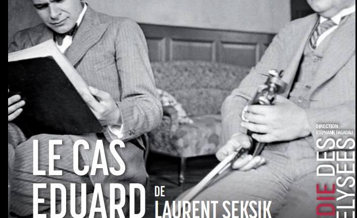 Le cas d'Eduard Einstein de Laurent Seksik