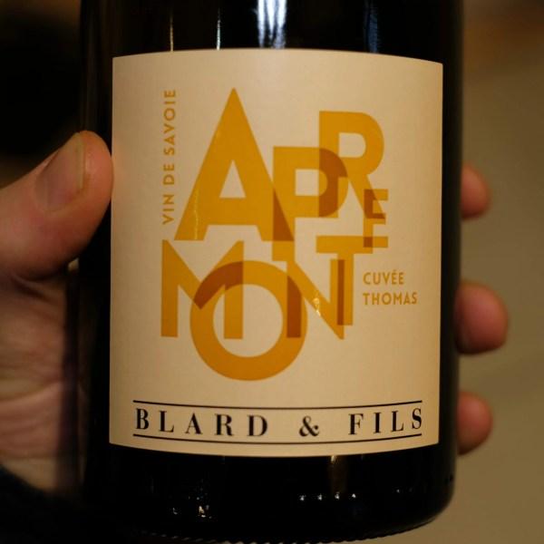 recto vin apremont biologique cuvee thomas ATELIER LAVARENNE fleuriste Lyon