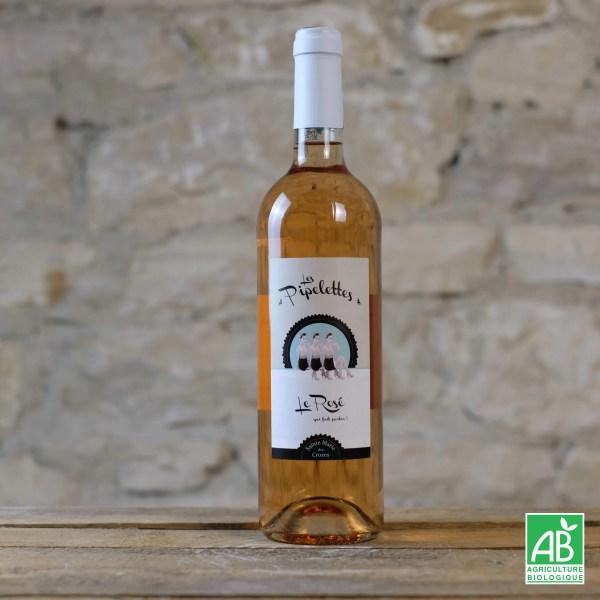 vin-rose-biologique-les-pipelettes