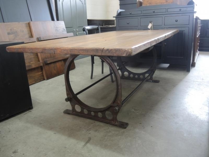 table de cuisine industriel atelier