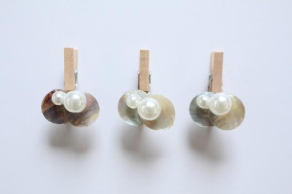 Les perles nacrées bois