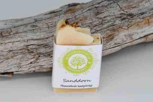 Sauberkunst Seifenmanufaktur Sanddorn Seifenstück