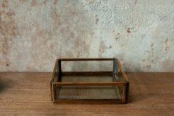 Aufbewahrungsbox Brass aus Messing und Glas von Monograph, atelier.91