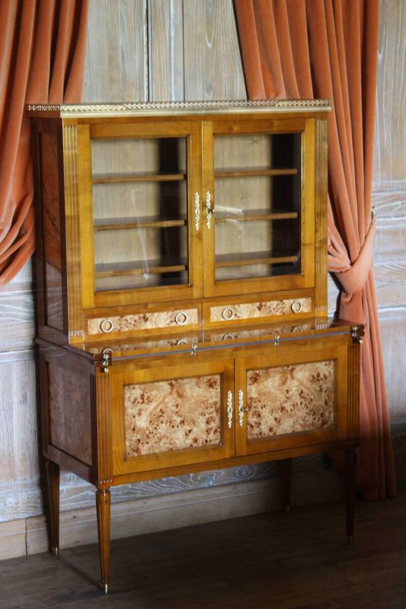 Secrtaire Rousseau Louis XVI Ateliers Allot Meubles