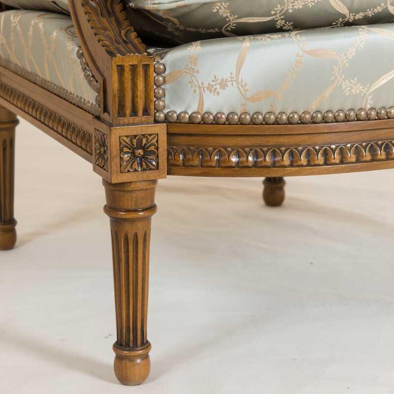 Fauteuil Jacob Oves Style Louis XVI Louis XVI Ateliers