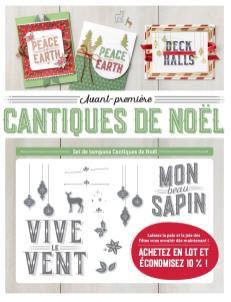 Set de tampons Cantiques de Noël Stampin up