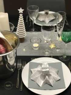 Décoration de table de Nouvel An 2019 2