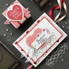 Carte portefeuille Saint Valentin Papier Design Du fond du coeur 2020 8