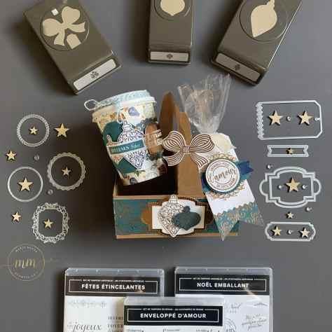 Porte-café et mini-gobelet à café Lumière étincelante