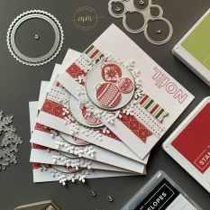 Cartes Ornamental envelopes 2020 3