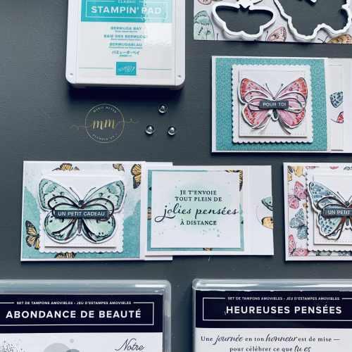 Tutoriel Mini carte a rabat Bijou Papillon 2021 3