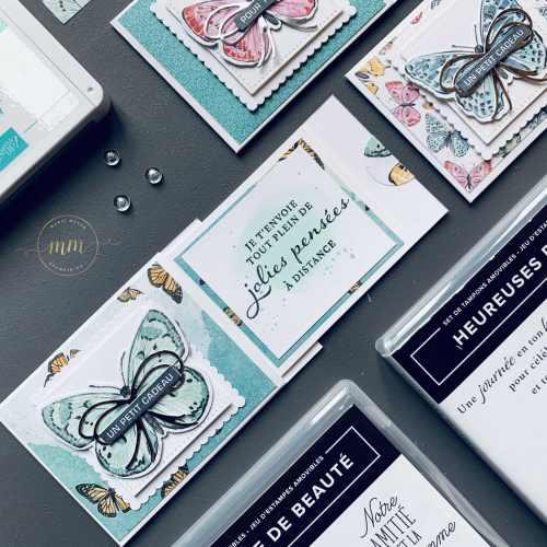 Tutoriel Mini carte a rabat Bijou Papillon 2021 4