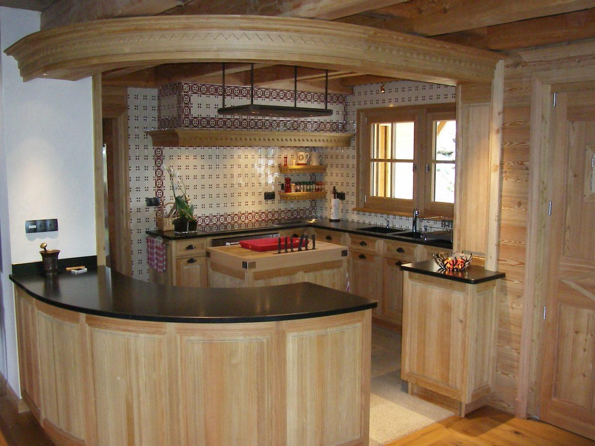 Cuisine Et Arrire Cuisine Chalet Ateliers Courtois
