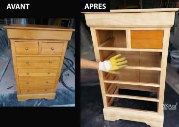 Meuble vernis - Ateliers Renard