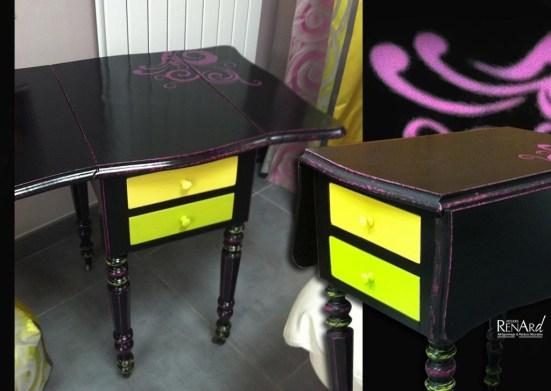Petit meuble peint - Ateliers Renard