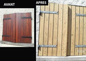 Volets bois - Ateliers Renard