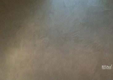 Zoom - Béton minéral mural gris - Idéal pour les pièces d'eau et douches - Ateliers Renard