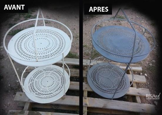 Mobilier de jardin en métal - Ateliers Renard