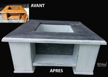 Patine - Table basse - Ateliers Renard