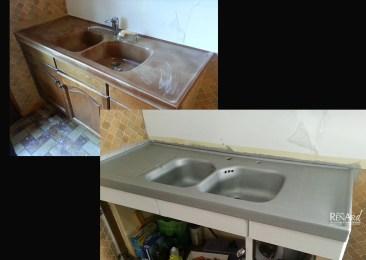 Relooking évier - Ateliers Renard