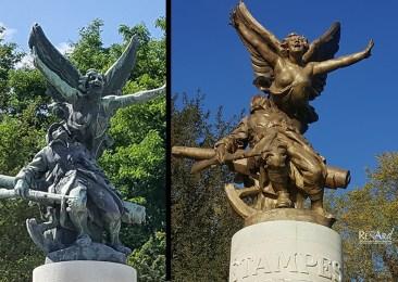 Restauration monument Bronze