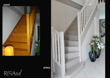 renovationr escalier