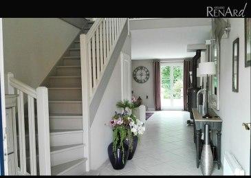 Rénovation relooking escalier bois