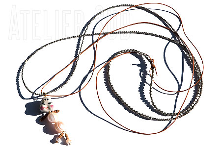 Chiny Zilver ketting