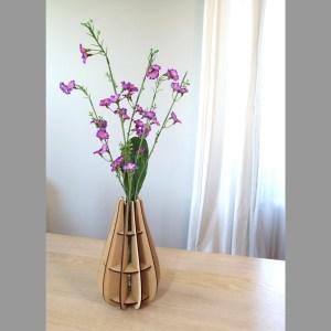 Vase Goutte en bois