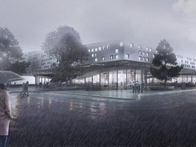 Torino Federal Building Competition-6