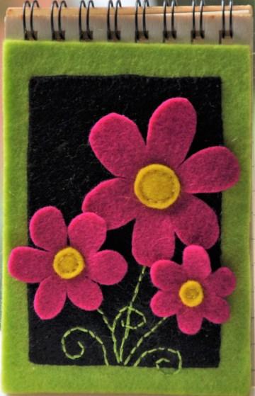 1139 fleurig notitieblokje