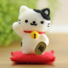 "201 Mana-chan Felting Kit ""Lucky cat"""