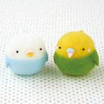 h441_445 woobble soft squishy mascot bird