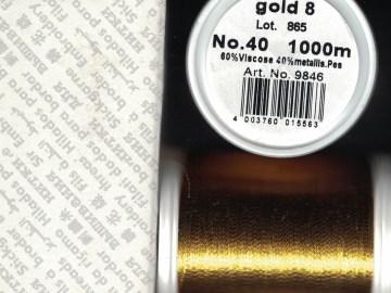 Madeira Metallic GOUD 8 1000MTR